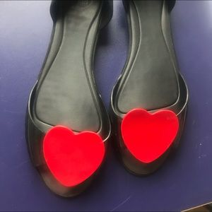 Melissa plastic sandals with heart